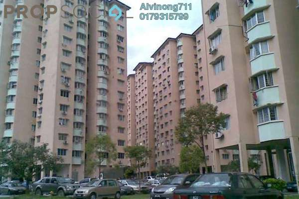 For Rent Apartment at Desa Dua, Kepong Freehold Semi Furnished 3R/2B 850translationmissing:en.pricing.unit