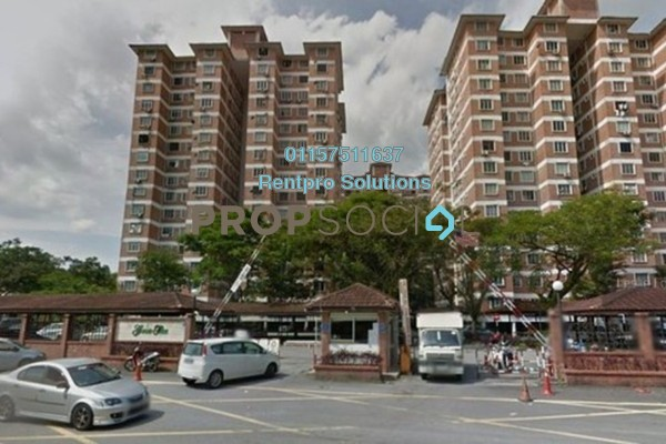 For Rent Condominium at Garden Park, Bandar Sungai Long Freehold Unfurnished 3R/2B 850translationmissing:en.pricing.unit