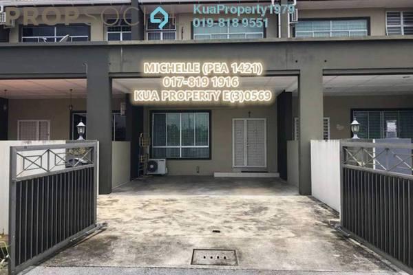 For Rent Terrace at Kampung Stutong Baru, Kuching Freehold Fully Furnished 4R/3B 1.6k