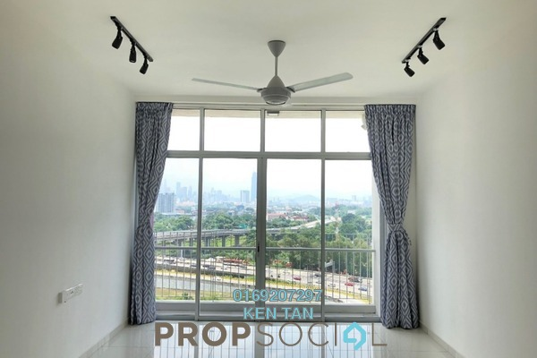For Rent Condominium at Midfields 2, Sungai Besi Freehold Semi Furnished 3R/2B 1.45k