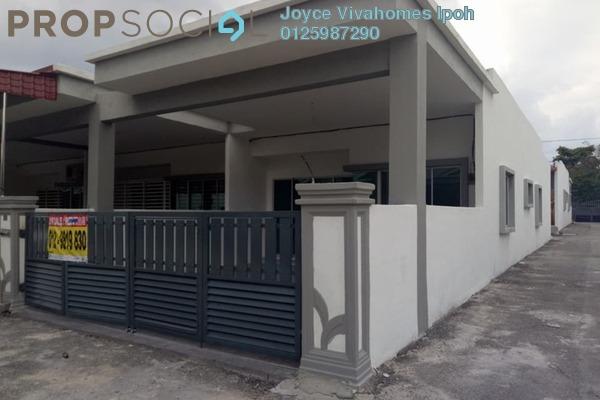 For Sale Terrace at Taman Lapangan Kiara, Ipoh Leasehold Unfurnished 3R/2B 265k