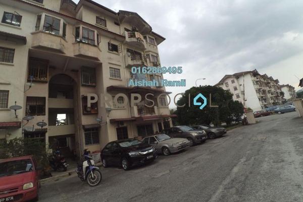 For Sale Apartment at Pandan Jaya, Pandan Indah Freehold Semi Furnished 3R/2B 300k