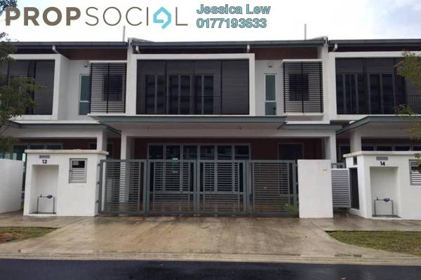For Sale Terrace at Elmina Valley, City of Elmina Freehold Semi Furnished 4R/3B 750k