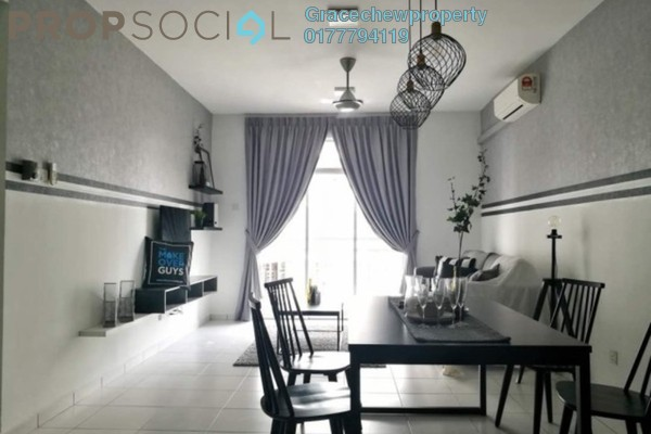 For Rent Condominium at Scott Towers, Johor Bahru Freehold Fully Furnished 3R/2B 2k