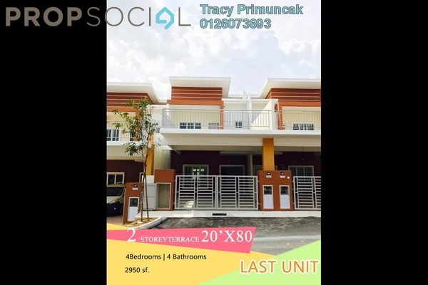 For Sale Terrace at Warisan Villa, Nilai Freehold Unfurnished 4R/4B 499k