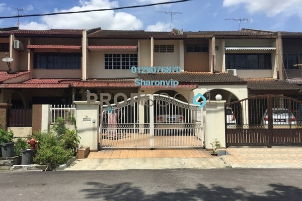 For Sale Terrace at Taman Delima, Cheras Freehold Semi Furnished 4R/3B 698k