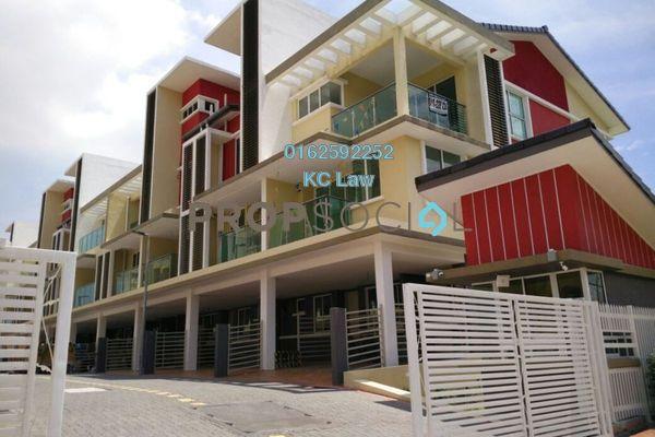 For Rent Townhouse at Tiara Permata Residensi, Petaling Jaya Freehold Semi Furnished 4R/4B 2.1k