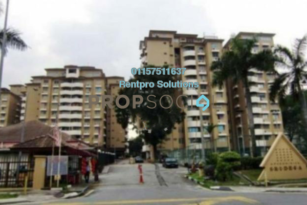 For Rent Condominium at Sri Desa, Kuchai Lama Freehold Semi Furnished 3R/2B 1.35k