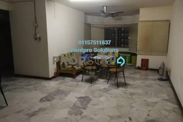For Rent Condominium at De Tropicana, Kuchai Lama Freehold Semi Furnished 3R/2B 1.1k