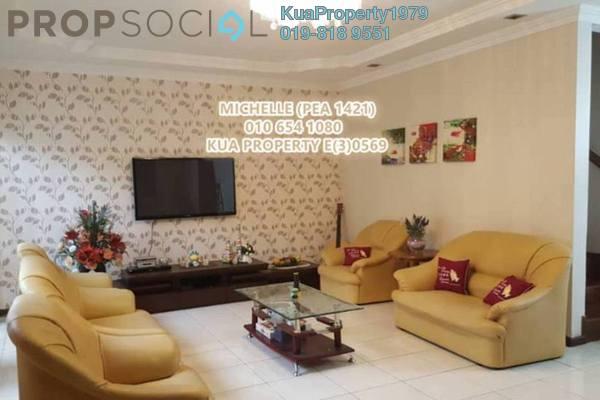 For Sale Terrace at Tabuan Jaya Baru 2, Kuching Leasehold Fully Furnished 4R/3B 680k