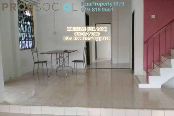 For Sale Semi-Detached at Jalan Laksamana Cheng Ho, Kuching Leasehold Semi Furnished 4R/3B 690k