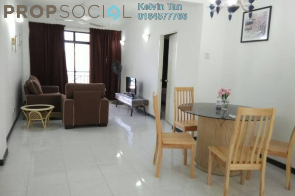 For Rent Condominium at Sunny Ville, Batu Uban Freehold Fully Furnished 3R/2B 1.3k