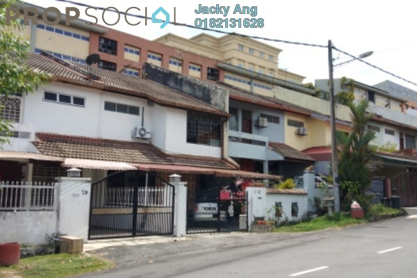 For Sale Terrace at Taman Alam Jaya, Batu 9 Cheras Freehold Semi Furnished 4R/3B 520k