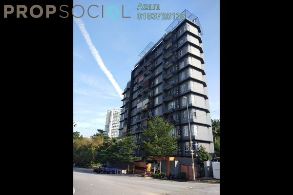 For Sale Serviced Residence at Merc Residence, Taman Desa Freehold Fully Furnished 2R/2B 650k
