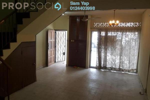 For Sale Terrace at Taman Sri Rampai, Setapak Freehold Semi Furnished 3R/2B 550k