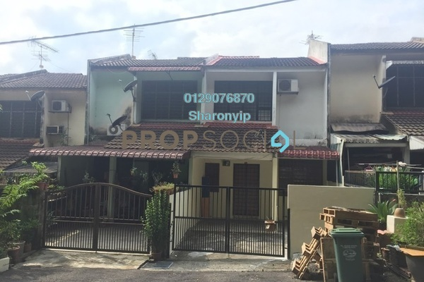 For Sale Terrace at Taman Delima, Cheras Freehold Unfurnished 3R/2B 390k