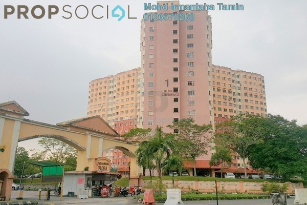For Sale Apartment at Desaminium Flora, Bandar Putra Permai Freehold Unfurnished 3R/2B 200k