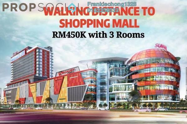 For Sale Condominium at Taman Maluri, Cheras Freehold Semi Furnished 3R/2B 451k