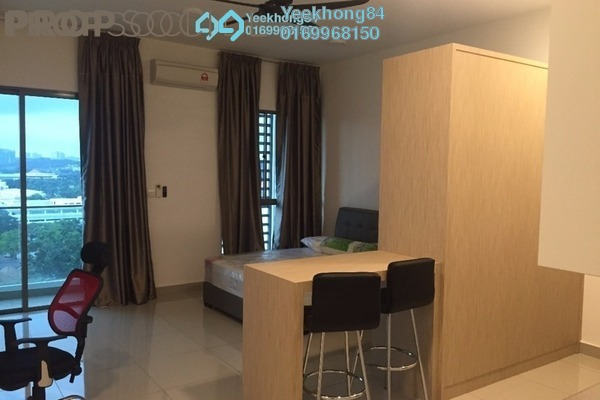 For Sale SoHo/Studio at CyberSquare, Cyberjaya Freehold Fully Furnished 0R/1B 260k