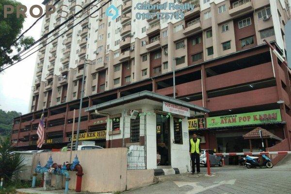 For Rent Apartment at Sri Harmonis Apartment, Gombak Freehold Semi Furnished 3R/2B 1.3k