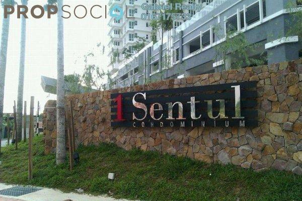 For Rent Condominium at 1Sentul, Sentul Freehold Semi Furnished 3R/2B 2k