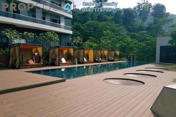 For Rent Condominium at The Veo, Melawati Freehold Fully Furnished 1R/1B 2.5k