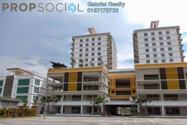 For Rent Condominium at Gaya, Melawati Freehold Semi Furnished 1R/1B 1.5k