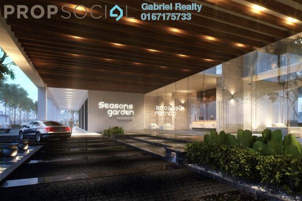 For Sale Condominium at Seasons Garden Residences, Wangsa Maju Freehold Semi Furnished 3R/2B 485k
