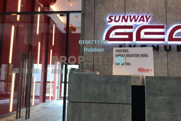 For Rent Office at Sunway GEO Retail, Bandar Sunway Freehold Semi Furnished 0R/1B 1.35k