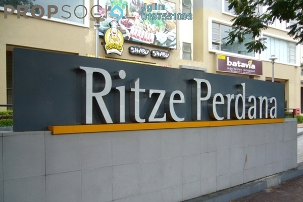 For Rent Apartment at Ritze Perdana 1, Damansara Perdana Leasehold Fully Furnished 1R/1B 1.2k
