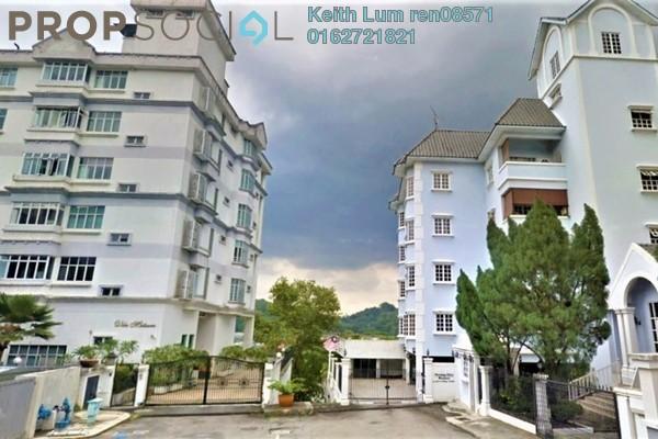 For Rent Apartment at Villa Mutiara, Bangsar Freehold Semi Furnished 4R/4B 6.5k