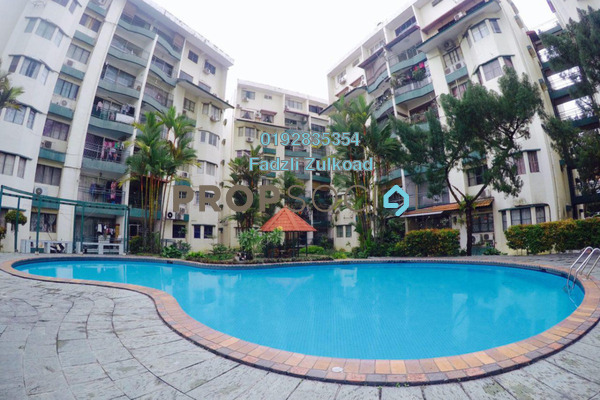For Sale Condominium at City Garden Orchid Court, Ampang Leasehold Unfurnished 3R/2B 410k
