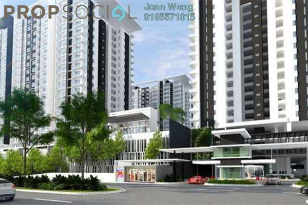 For Sale Condominium at Paragon 3, Bandar Putra Permai Freehold Semi Furnished 3R/2B 1m