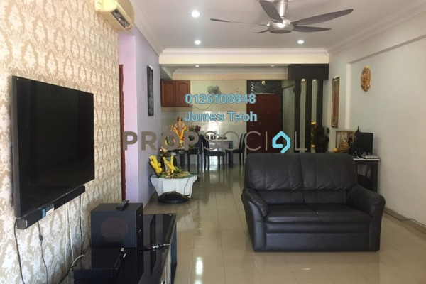 For Sale Apartment at Prima Bayu, Klang Freehold Semi Furnished 3R/2B 319k