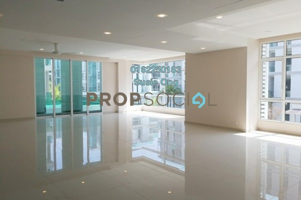 For Rent Serviced Residence at Brunsfield Riverview, Shah Alam Freehold Semi Furnished 3R/5B 13k