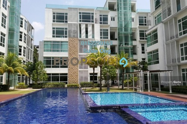For Rent Serviced Residence at Brunsfield Riverview, Shah Alam Freehold Semi Furnished 5R/7B 20k