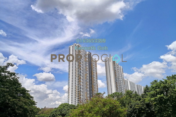 For Rent Condominium at Parkhill Residence, Bukit Jalil Freehold Semi Furnished 3R/2B 1.75k