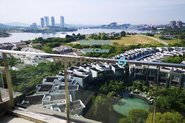 For Sale Condominium at Mirage By The Lake, Cyberjaya Freehold Semi Furnished 3R/3B 800k