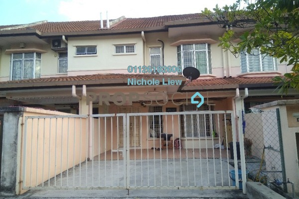 For Sale Link at Section 3, Bandar Mahkota Cheras Freehold Semi Furnished 4R/3B 549k