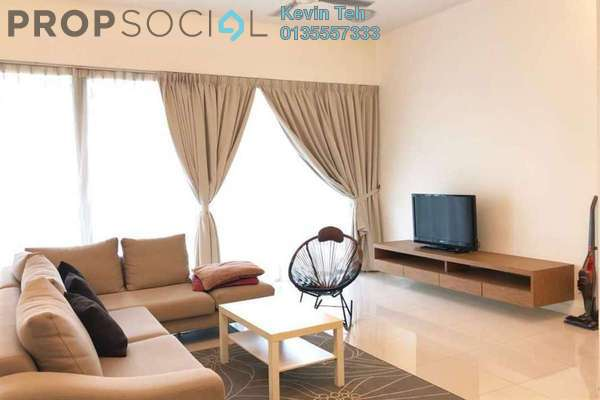 For Rent Condominium at The Park Residences, Bangsar South Freehold Fully Furnished 4R/3B 5k