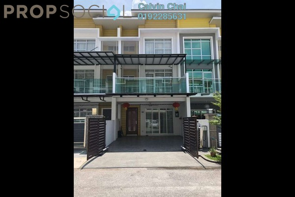 For Sale Terrace at Bayu Heights, Seri Kembangan Freehold Fully Furnished 5R/4B 1.05m