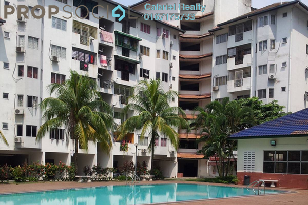For Rent Condominium at Panorama Residences, Sentul Freehold Semi Furnished 3R/2B 1.9k