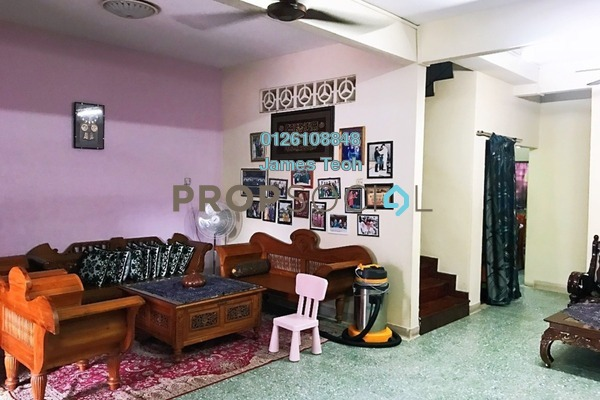 For Sale Terrace at Taman Gembira, Klang Freehold Semi Furnished 4R/3B 529k