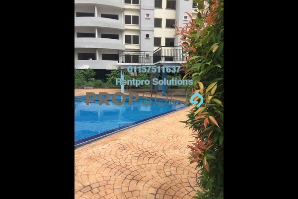 For Rent Condominium at Casa Suria, Batu 9 Cheras Freehold Unfurnished 4R/3B 1.2k
