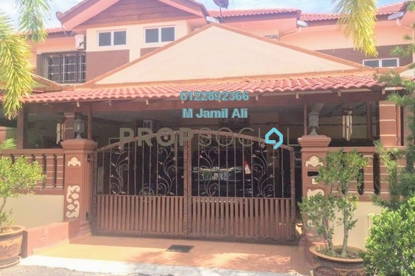 For Sale Superlink at Kampung Pengkalan Badak, Bukit Katil Freehold Fully Furnished 3R/3B 428k