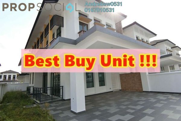 For Sale Semi-Detached at Eco Botanic, Skudai Freehold Unfurnished 4R/4B 1.1m