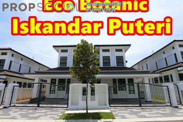 For Sale Semi-Detached at Taman Perling, Iskandar Puteri (Nusajaya) Freehold Unfurnished 4R/4B 898k