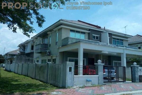 For Sale Semi-Detached at Tiara Lake Park, Ipoh Freehold Unfurnished 4R/3B 425k