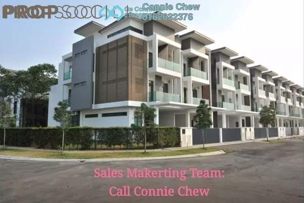 For Sale Terrace at Taman Amanputra, Puchong Freehold Semi Furnished 5R/5B 1.31m
