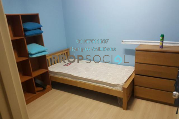 For Rent Apartment at Jati Selatan Apartment, Desa Petaling Freehold Semi Furnished 2R/2B 1.2k
